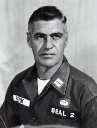 photo of Roy Boehm in uniform